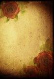 предпосылка цветет ретро Стоковая Фотография