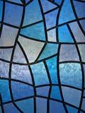 предпосылка цветет стеклянный запятнанный льдед Стоковая Фотография