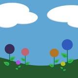 предпосылка цветет lollipop Стоковые Фото