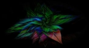 Предпосылка цветка форменная футуристическая Стоковое Изображение