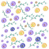 Предпосылка цветка Стоковое Изображение