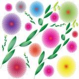 Предпосылка цветка Стоковое Фото