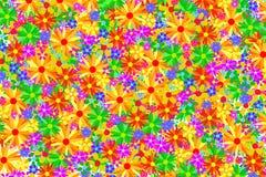 Предпосылка цветка иллюстрация штока