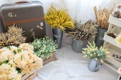 Предпосылка цветочного магазина Стоковое Фото