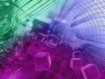 предпосылка цифровая Стоковое Изображение