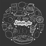 Предпосылка черноты Lemon3 бесплатная иллюстрация
