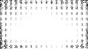 Предпосылка чисел бинарного кода градиента Стоковые Фото