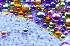 Предпосылка шариков Christmass стоковые фотографии rf