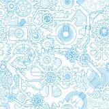 Предпосылка шестерни Clockworks иллюстрация вектора