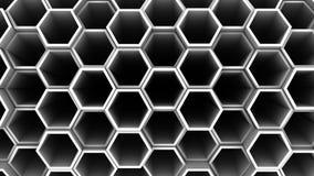 Предпосылка шестиугольников акции видеоматериалы
