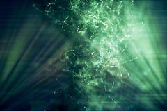 Предпосылка шторма цифров художественного конспекта красочная большая бесплатная иллюстрация