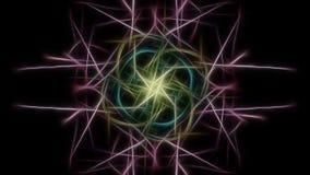 Предпосылка элегантности Серия симметрии фрактали silk иллюстрация вектора