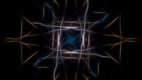 Предпосылка элегантности Серия симметрии фрактали silk бесплатная иллюстрация
