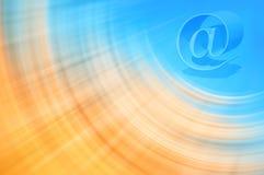Предпосылка электронной почты Стоковое Изображение