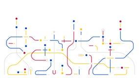 Предпосылка элементов сети передачи данных цифров геометрическая абстрактная иллюстрация вектора