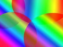 предпосылка эллиптическая Стоковое Фото