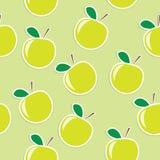 предпосылка яблока безшовная иллюстрация вектора