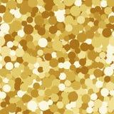 Предпосылка яркого блеска искры золота безшовная иллюстрация штока