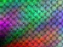Предпосылка яркого конспекта multicolor pixeled иллюстрация вектора