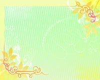предпосылка 08 флористическая Стоковое Изображение