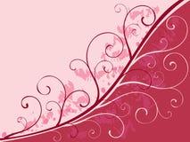 предпосылка 2 флористическая Стоковое Изображение RF