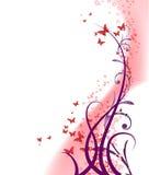 предпосылка 4 флористическая Стоковое Изображение RF