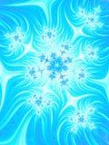 Предпосылка aqua Abatrsact голубая белая Картина рождества милая Fr Стоковая Фотография