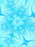 Предпосылка aqua Abatrsact голубая белая Картина рождества Frost s Стоковое Изображение