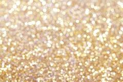 Предпосылка bokeh золота абстрактная стоковая фотография rf