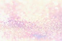 Предпосылка Bokeh красочная запачканная абстрактная для дня рождения, годовщины, свадьбы, кануна Нового Годаа или рождества Стоковая Фотография RF