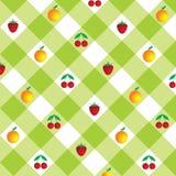 предпосылка checkered Стоковые Изображения RF