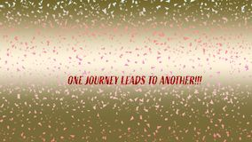 Предпосылка confetti Bokeh Multicolor тема confetti Живой блестящий дизайн confetti падая для тем партии стоковые изображения