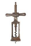 предпосылка corkscrews старая белизна стоковое фото