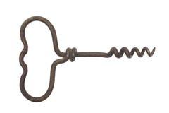 предпосылка corkscrews старая белизна стоковые изображения
