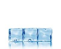 предпосылка cubes сделанный льдед Стоковые Изображения RF