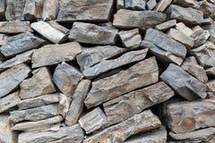 Предпосылка Drystone стены стоковые фотографии rf