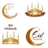 Предпосылка Eid Mubarak Стоковое фото RF