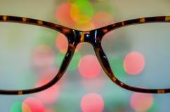 Предпосылка Eyeglasses Стоковые Фото