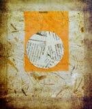 Предпосылка Grunge бумажная Стоковые Изображения