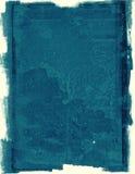 Предпосылка grunge голубой бумаги Стоковые Изображения