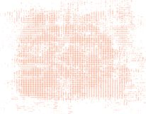 Предпосылка grunge персика пересекая нашивок Стоковое Изображение RF