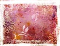 Предпосылка Grunge розовая иллюстрация вектора
