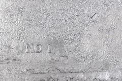 Предпосылка Grunge серебряная Стоковое фото RF