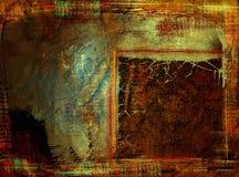 Предпосылка Grunge с космосом для доказательства. иллюстрация штока