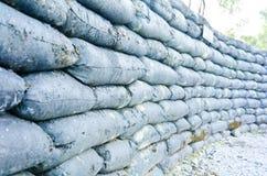 Предпосылка Grunge текстуры стены барьера в воисках Стоковая Фотография RF