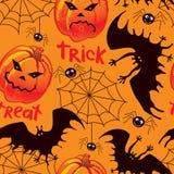 Предпосылка Halloween безшовная Стоковое Изображение RF