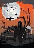 предпосылка halloween страшный Стоковые Изображения RF
