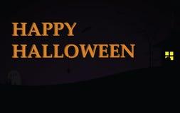предпосылка halloween счастливый Стоковое Фото