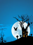предпосылка halloween стоковое изображение rf