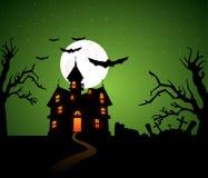 предпосылка halloween Стоковая Фотография